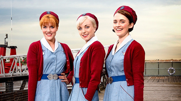 how does the midwife confirm that Born performers: the real stars of runaway hit call the midwife are the newborn babies – and they're already acting like prima donnas by nicole lampert for the daily mail.