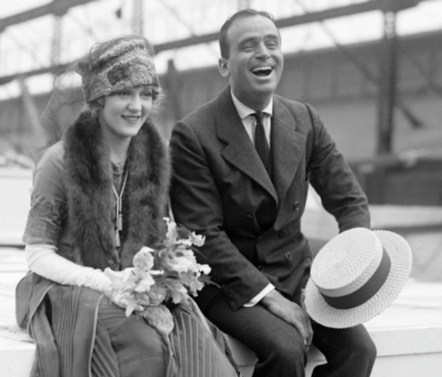 Douglas Fairbanks & Mary Pickford, c. early 1920s