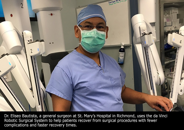 Dr. Bautista da Vinci Robotic Surgical System