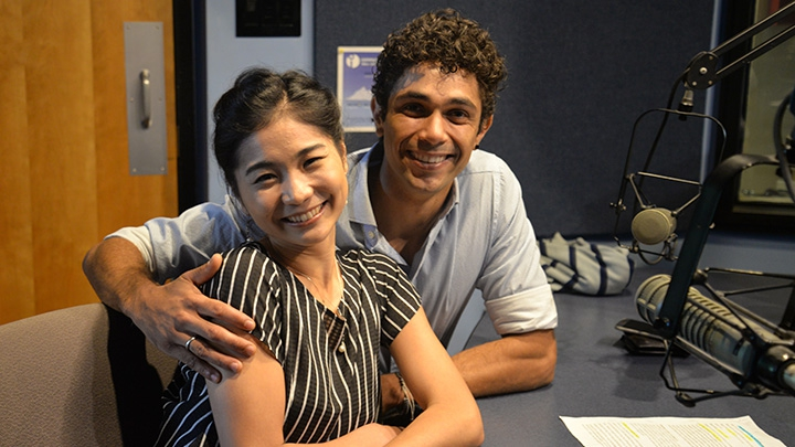 Eri Nishihara and Fernando Sabino