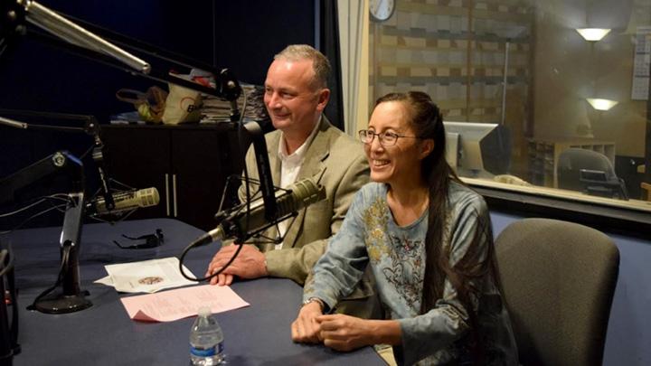 David Fisk and Joanne Kong