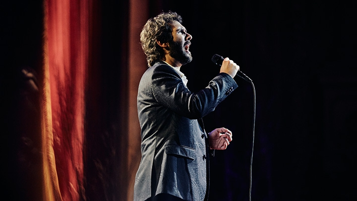 josh groban sings classics from the broadway songbook. Black Bedroom Furniture Sets. Home Design Ideas