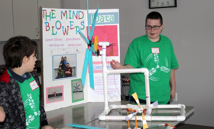 kid wind challenge