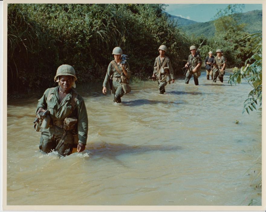 Soldiers in the Vietnam War