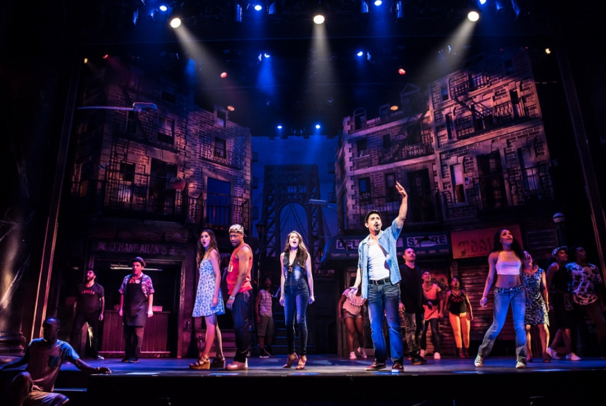 in the heights review The play: a hip-hop influenced musical about life and dreams among the inhabitants of an hispanic immigrant neighborhood in new york's washington heights.