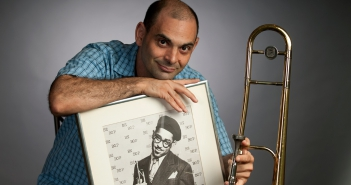 WCVE Jazz host Peter Solomon