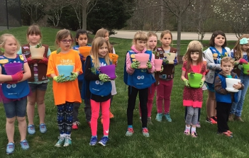 Brownies and Girl Scouts of Troop 171