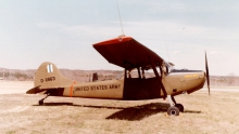 single-engine spotter plane
