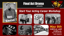 Acting Career Workshop