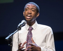 Ahkei Togun Poetry Out Loud National Champion