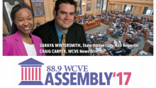 88.9 WCVE Has Covered the General Assembly since 1976.
