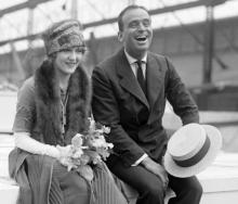 Douglas Fairbanks & Mary Pickford, c. early 1920s