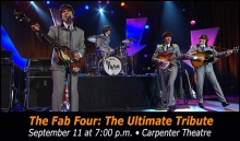 THE FAB FOUR: THE ULTIMATE TRIBUTE performs at Carpenter Theatre 9.11.16