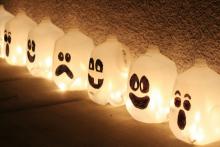 Glowing Ghost Jug