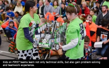FIRST robotic team
