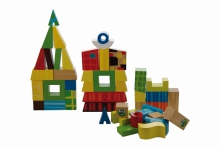 Playing with blocks builds your child's brain