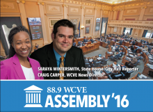 WCVE's Assembly '16 coverage by Craig Carper and Saraya Wintersmith