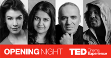 TED Cinema Experience presents Opening Night at TED2017