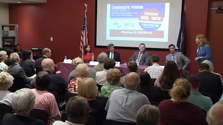 10th Senate District Candidates Forum