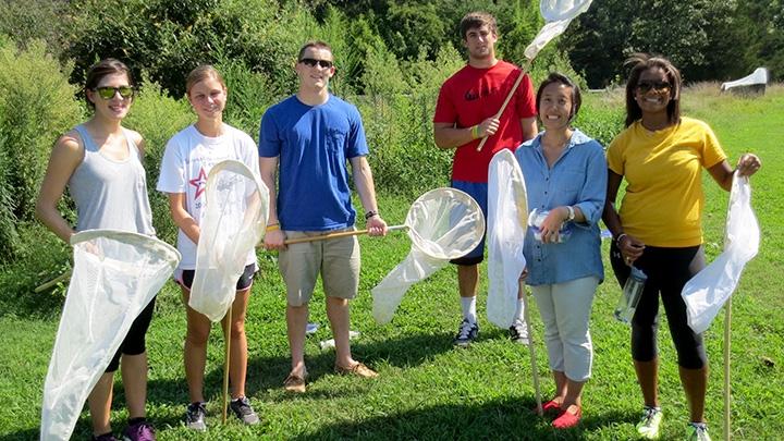 entomology students