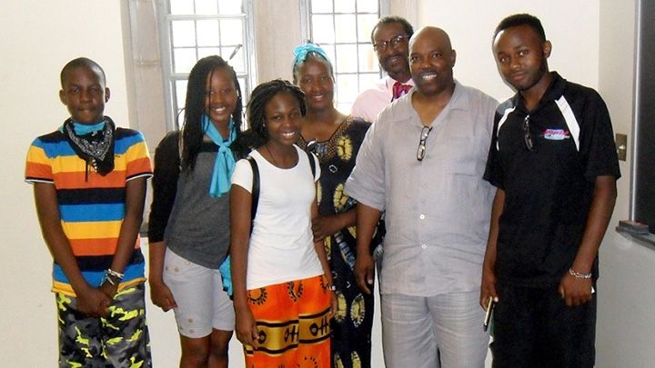 students from Kenya