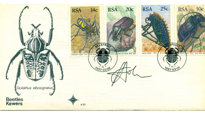 Insect Philately