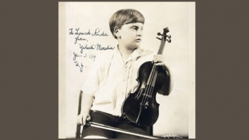 Menuhin Signed Photo