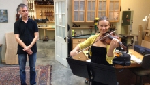 Don Leister violin