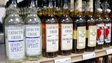liquor bottles