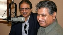Zulfiqar Ali Shah and Murtaza Solangi